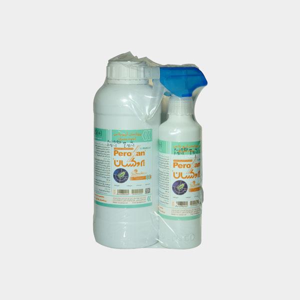 محلول ضد عفونی کننده آماده مصرف و سریع الاثر - حجم 1350 سی سی پروکسان
