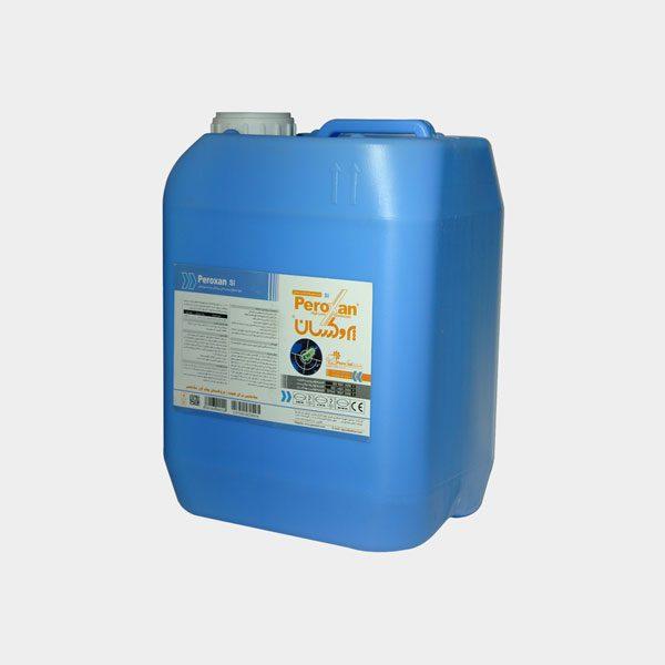 محلول 5 لیتری ضدعفونی کننده سطوح حساس و غیرحساس پروکسان